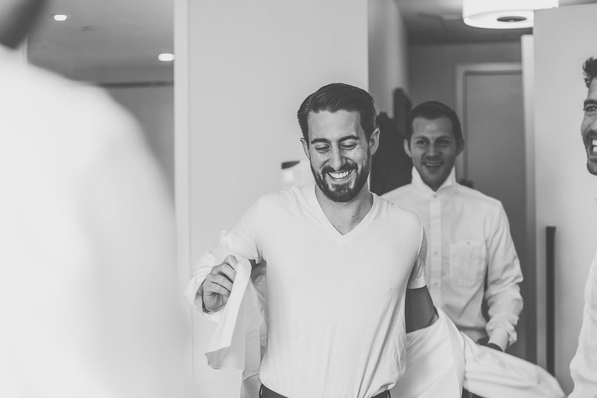 Downtown Toronto wedding, Toronto Wedding, Toronto Wedding Photographer, Downtown Toronto, Toronto Photographer, Berkeley Church, Berkeley Events, Berkeley fieldhouse, Groom, Groom getting ready, bowtie, cigar, groom getting dressed
