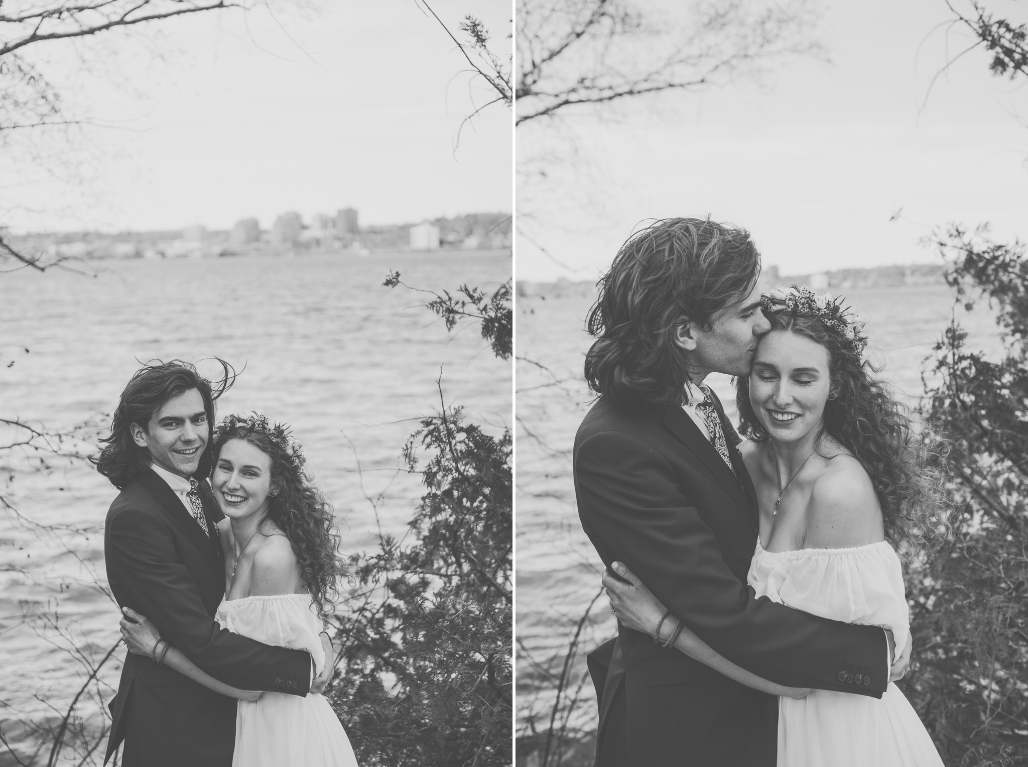 wedding, barrie wedding, barrie photographer, toronto photographer, barrie wedding photographer, toronto wedding photographer, jeannette breward photography, church, church wedding, waterfront, waterfront wedding, spring wedding, ontario wedding, couple, floral crown, religious ceremony, boho bride, boho wedding, bohemian wedding, floral crown, emotional, emotions, emotional wedding, black and white, ceremony, bridesmaids, wedding party, woods, forest, woods wedding, forest wedding, southshore centre, southshore community centre, barrie southshore community centre, barrie southshore centre